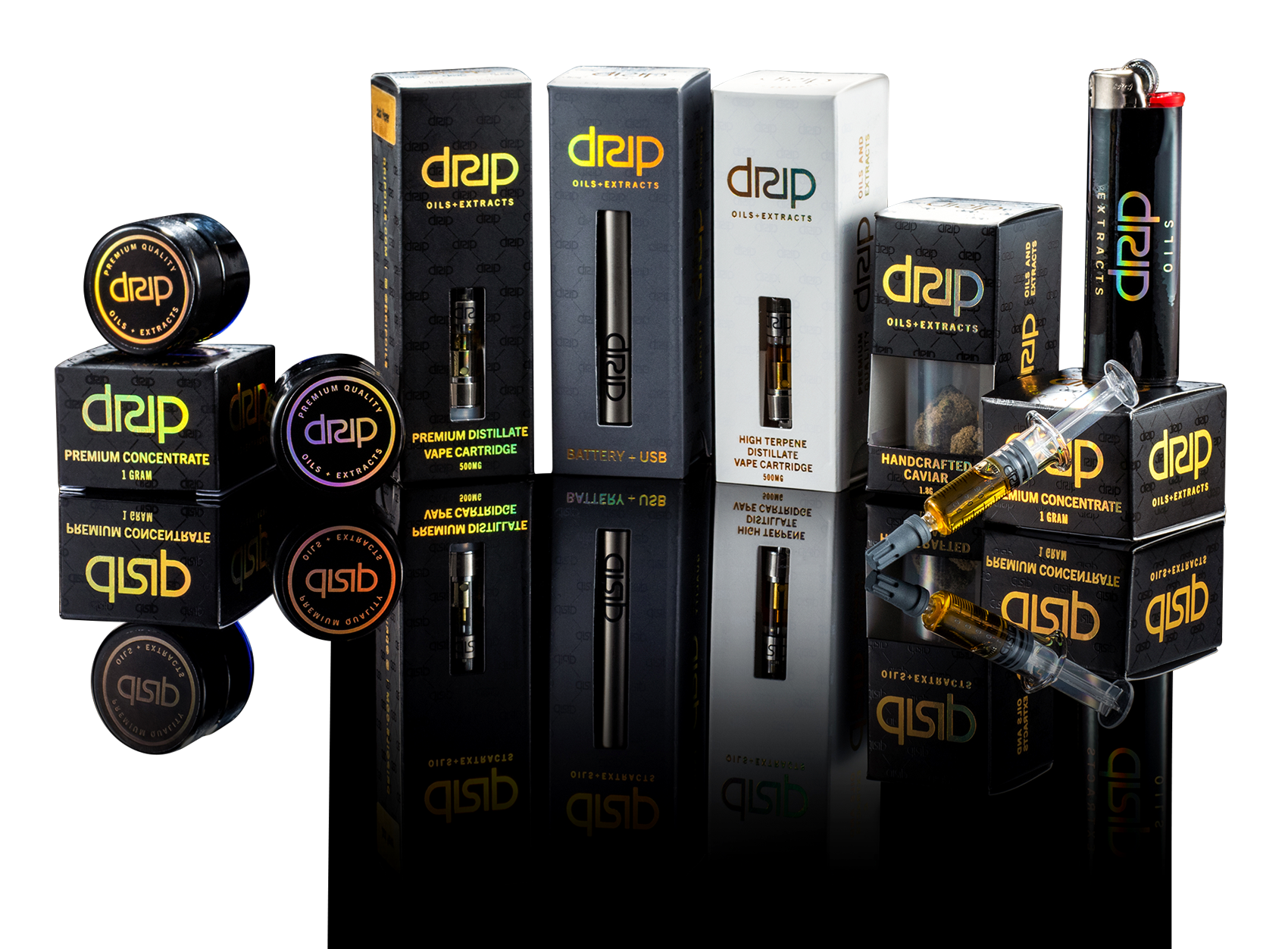 Premium Quality Oils + Extracts ⋆ DRIP MMJ Oil Products